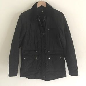 H&M Black Quilted Jacket